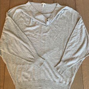Joie cowlneck 3/4 sleeve sweater